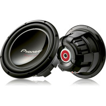Subwoofer 12 Pioneer 400w Rms Ts-w309 D4 Bobina Dupla