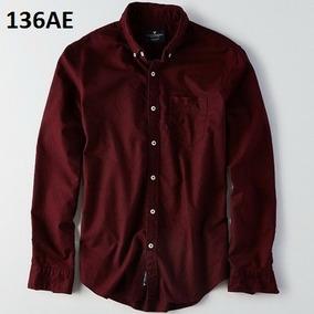 S, L - Camisa American Eagle Vino C136ae Ropa 100% Original