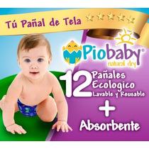 Super Combo 12 Pañales Ecológicos De Tela Pio Baby Original
