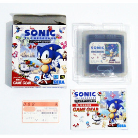 Sega Game Gear Sonic The Hedgehog Original Completo Jp