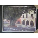 Pintura Colonial 30x40 Por El Artista Milvio
