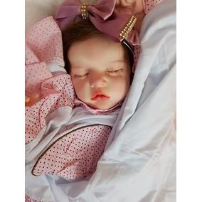 Bebê Reborn Manoela Com Placa De Barriga Linda
