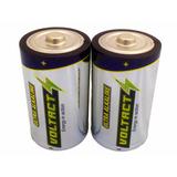 Pila Bateria Ultra Alcalina D Voltact Larga Duracion