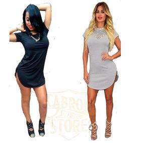 2 Remeras Mujer Remeron Cubre Calzas Tipo Vestido Pack 2