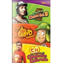 Pack 3 Dvd Chavo + Chapulin + Chavo Animado Originales