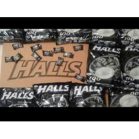 Pastillas Halls Negras Mayoreo 100pzs Nivel 5 Oral Sensual