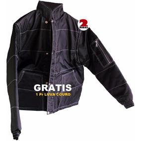 Jaqueta Moto Motociclista Frio 2rodas + Luva Couro Gratis