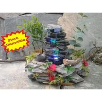 Fuente De Agua/mini Cascada Para Exterior/interior