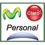 Chip Tarjeta Sim Card Prepago Movistar Personal Claro