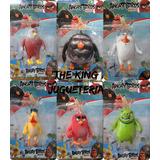 Set 6 Muñecos Angry Birds The Movie - Envios A Todo El Pais!