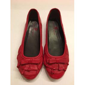 Balerinas Paula Cahen D´anvers Nuevas 21 Cm Rojo/bordó