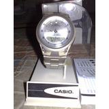 Reloj Casio Iluminator Analogico/digital 50m Original 100%