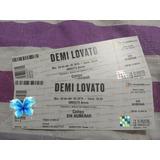 Entradas Demi Lovato Campo Directv Arena! 17/11 Envios!