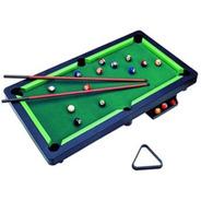 Mini Mesa Sinuca Snooker 11 Bolas Bilhar Infantil Braskit