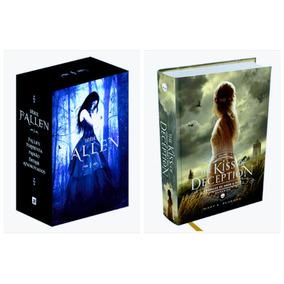 Box Livro Fallen (5 Livros) + The Kiss Off Deception