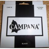 Cuerdas Encordado De Guitarra Criolla Campana Black
