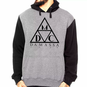 Blusa Moletom Raglan Damassaclan Dmc Rap Hip Hop Frio