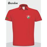 Camisa Polo Fluminense Masculina E Feminina Polo Torcedor cb5765596beaf