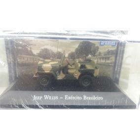 Coleção Veículos De Serviços Jeep Willys Exército Brasileiro