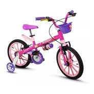 Bicicleta Infantil Aro 16 Feminina Top Girls - Nathor