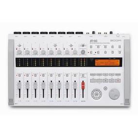 Zoom R16 Interface Gravação Multicanais + Software + Card