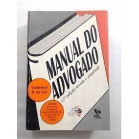 Livro Manual Do Advogado Valdemar P. Da Luz