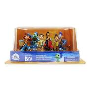 Luca Pixar Filme 6 Bonecos Playset Disney Store