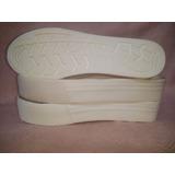 Base Calzado Suela Tr Para Zapatillas Panchas Sandalias