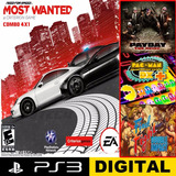 Need For Speed Most Wanted + 4x1 Ps3 Combo Digital