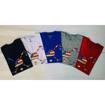 Kit 3 Camisetas Lacoste, Armani, Brooksfield, Pólo
