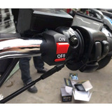 Switch Para Motocicleta Luces Auxiliares
