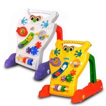 Andador Feliz Infantil Calesita Brinquedo P/ Bebê Educativo