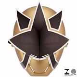 Máscara Power Rangers Samurai Mega Ranger Mask Dourada