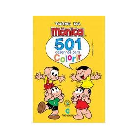 501 Desenhos Para Colorir - Turma Da Monica