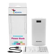Power Bank 20000mah Adata P20000d Bateria Portatil Celular