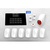 Alarma Intelig 6 Sensores Con Discador Telefónico Gsm Celula