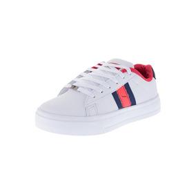 Zapato Casual Mujer Tellenzi Blanco*rojo*azul 08