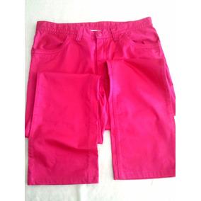 Pantalón Para Dama Lacoste, Talla Us 10, Color Fusia Coral