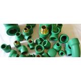 Unión Doble Mixta 32mm Fusión/rosca M 1 Agua Color Verde