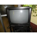 Televisor 20 Con Mesa Con Ruedas