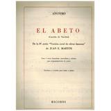 Partitura Piano El Abeto(canción De Navidad) Anonim0 Ricordi
