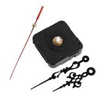 Maquina De Reloj Con Agujas Para Pegar En C D + Atril