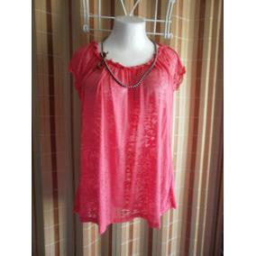 Blusa De Moda, Color Rosa. Talla Xxxl (3x)