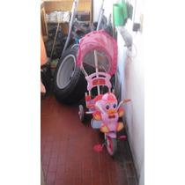 Triciclo Pata Con Toldo, Manija Y Música