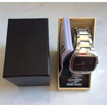 Relógio Mormaii Quadrado Masculino Seminovo Original 100m