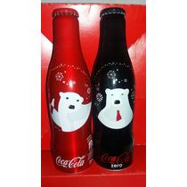Garrafinha De Aluminio Cocacola Urso Natal 2016