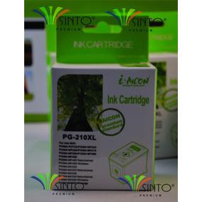 Tinta Genérica Canon Pg-210xl Negra_16ml Garantizado 100%