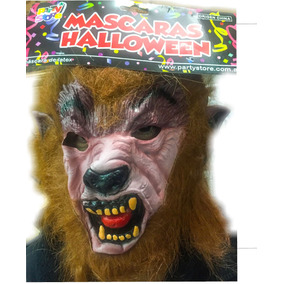 Mascara Hombre Lobo Latex 100% - Superoferta La Golosineria