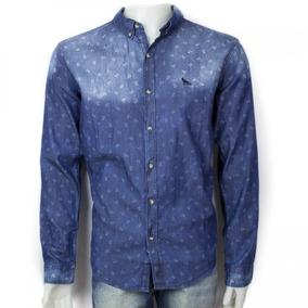 Camisa Social Masculina Acostamento Casual 69101059 Original
