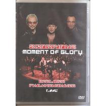 Scorpions Moment Of Glory Live Dvd Lacrado Original